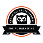 Badge for Social Marketing