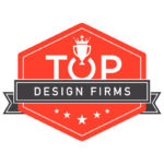 Badge from Top Design Firms